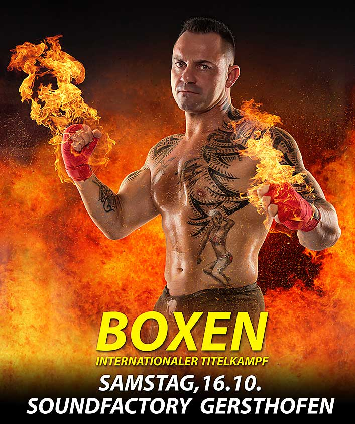 Tiger on Fire - Boxen 2015